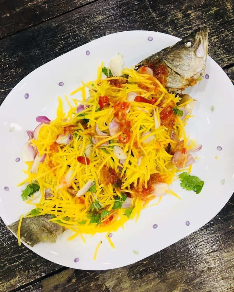 resepi ayam mangga ayam kari  mangga  cantaloupe slaw masyarakat july Resepi Ayam Masak Kunyit Berkuah Enak dan Mudah