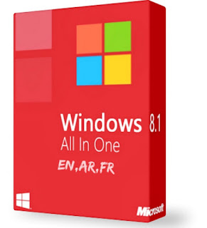 Windows 8.1 All in One ISO Activated 32-bit 64-bit  [5.6GB]