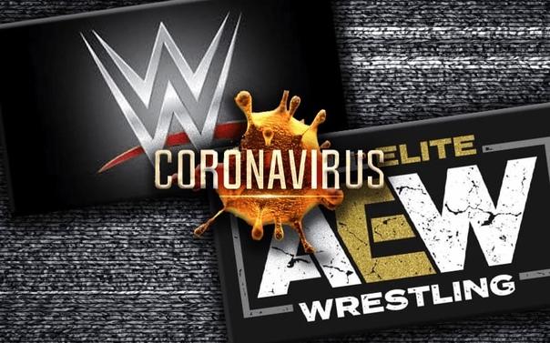 Стало известно, как WWE и AEW тестируют своих звёзд на коронавирус