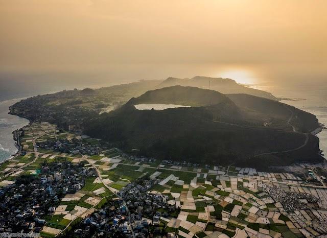 Những ngọn núi lửa tuyệt đẹp trên đảo tỏi Lý Sơn
