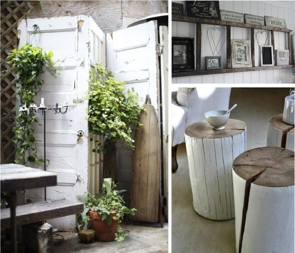 Cicli ricicli blog di arredamento e interni dettagli home decor - Porte vecchie in legno ...
