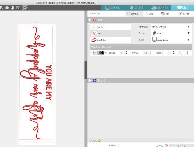 silhouette cameo tutorial, silhouette studio, studio, cutting problems, longer than mat, silhouette studio v4