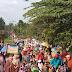 Pawai Paling Ramai dan Meriah Semenjak Kecamatan SBJ Ada
