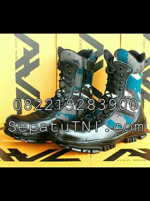 Sepatu PDL TNI AL loreng KRI merk AWL