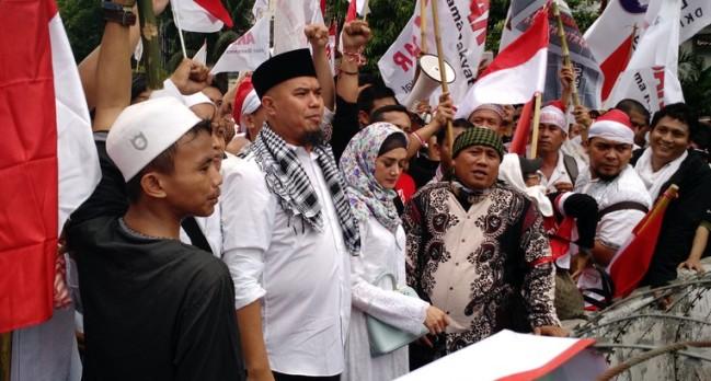 Ahmad Dhani Balas Polisikan Relawan Jokowi Sore Ini