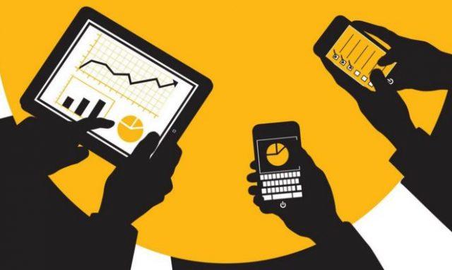 Ilustrasi Penggunaan Aplikasi Untuk Bisnis, sumber : PG Buletin Online