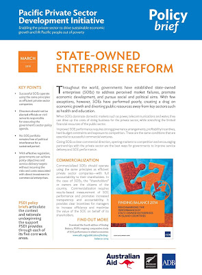 SOE reform Policy Brief cover