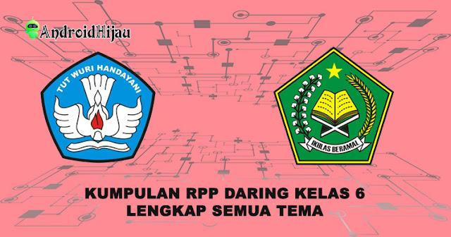 Download Rpp Daring 1 Halaman Kelas 6 Sd Mi Lengkap Semua Tema Android Hijau