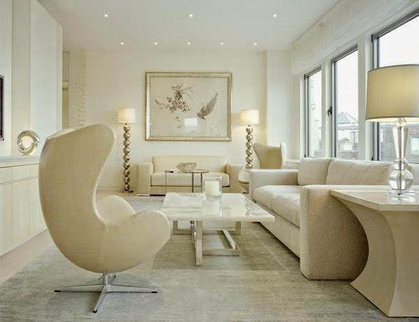 deco salon moderne beige. Black Bedroom Furniture Sets. Home Design Ideas