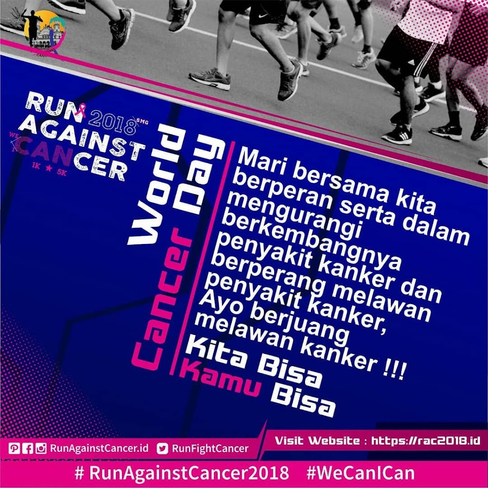 Registrasi Run Against Cancer • 2018