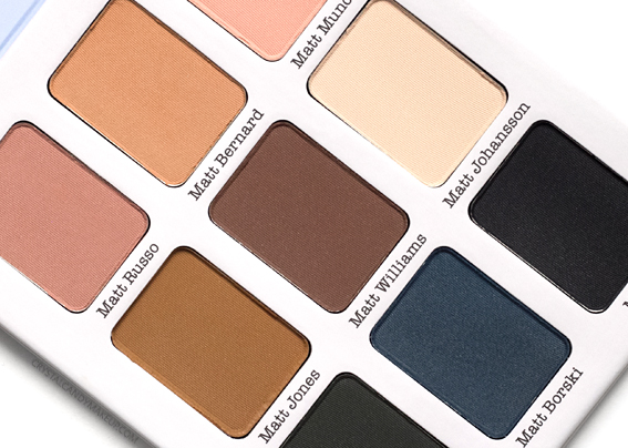 TheBalm Meet Matt(e) Ador Eyeshadow Palette Review Photos