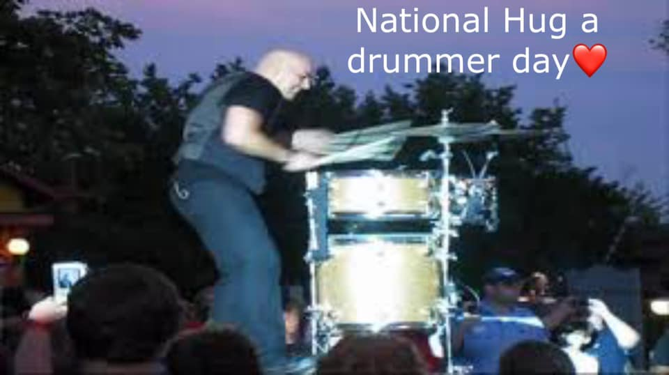 National Hug a Drummer Day Wishes