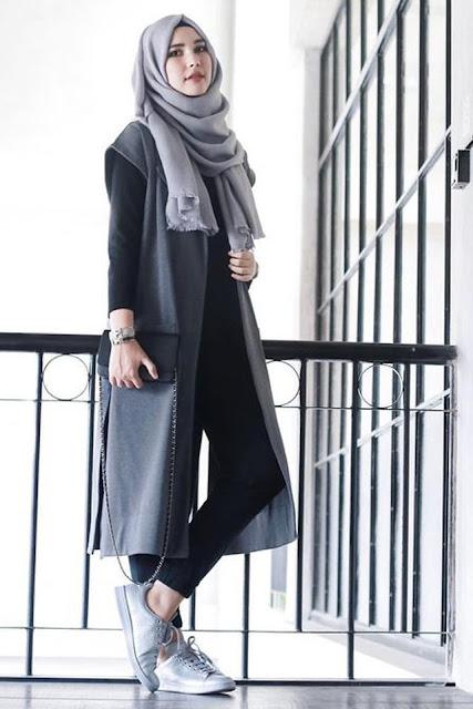 بالصور طريقة تنسيق لون الحجاب مع الملابس