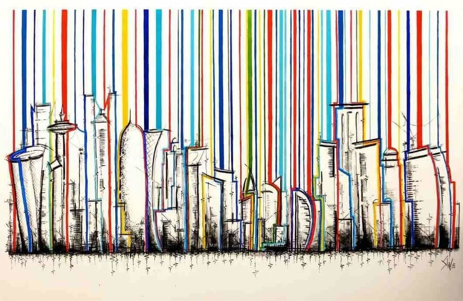 07-Doha Stripes-Stephen-Watkins-Cityscapes-www-designstack-co