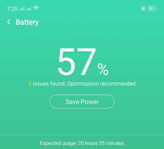 Battery save android phone