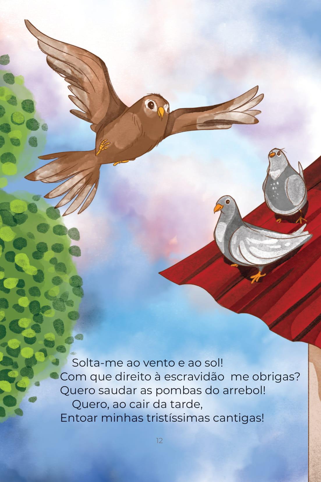 Poesia O Pássaro Cativo (Conta Pra Mim); Baixar PDF Grátis