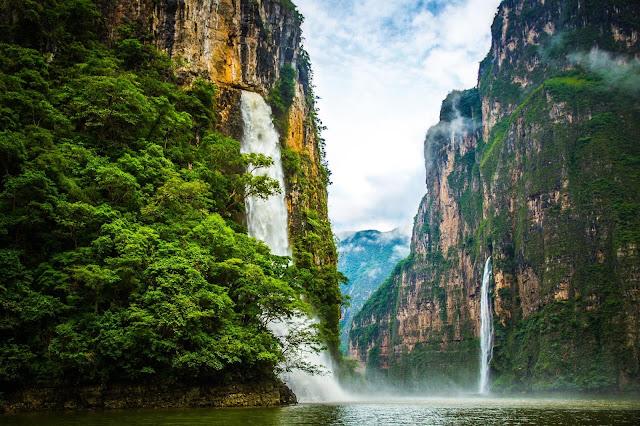 Actividades cañón sumidero Chiapas