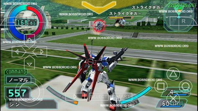 Download Kidou Senshi Gundam Seed - Rengou vs Z.A.F.T PPSSPP PSP ISO High Compress