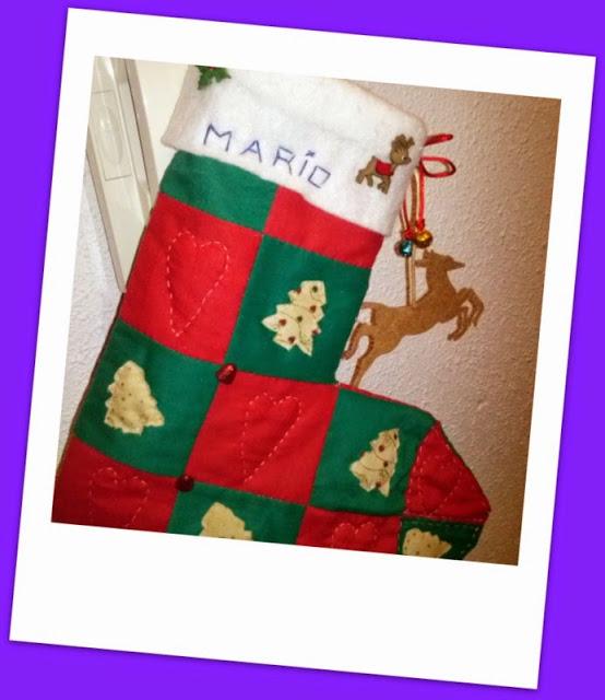 calcetin de navidad de patchwork la leyenda del calcetin de navidad