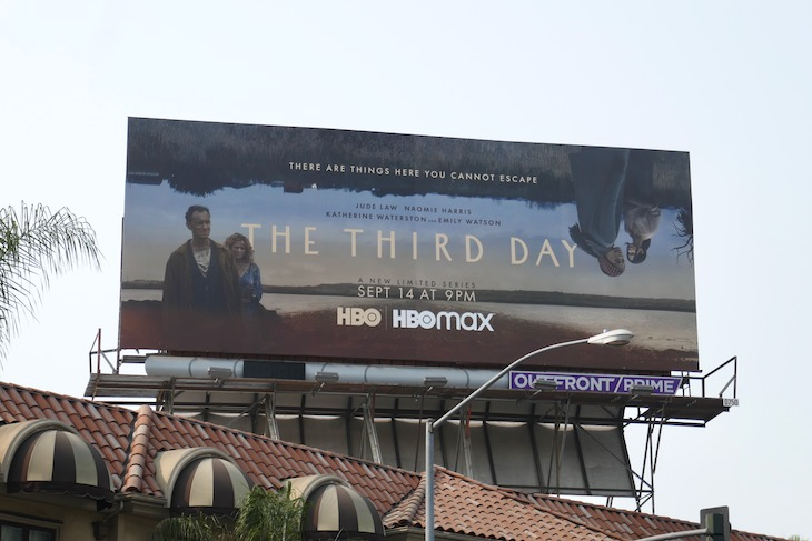 Third Day series launch billboard