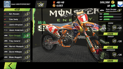 Monster Energy Supercross Game mod apk