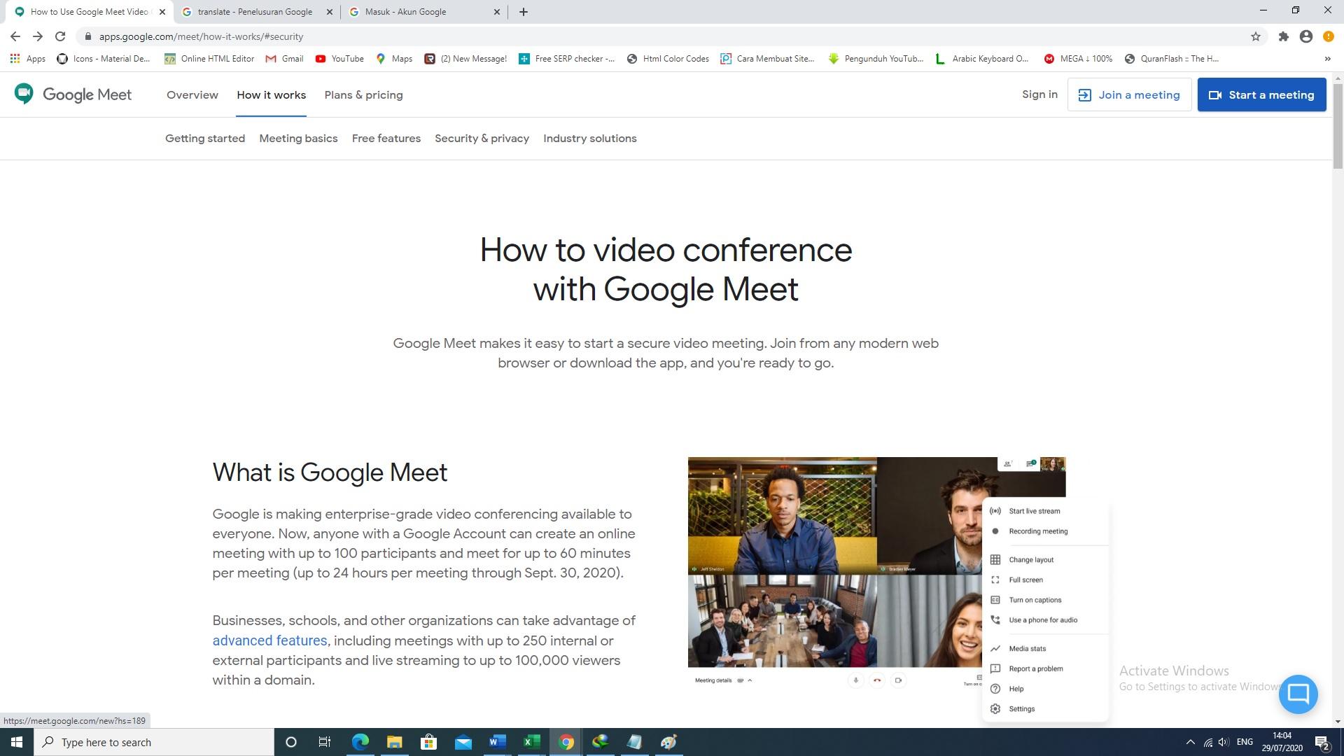 meet google