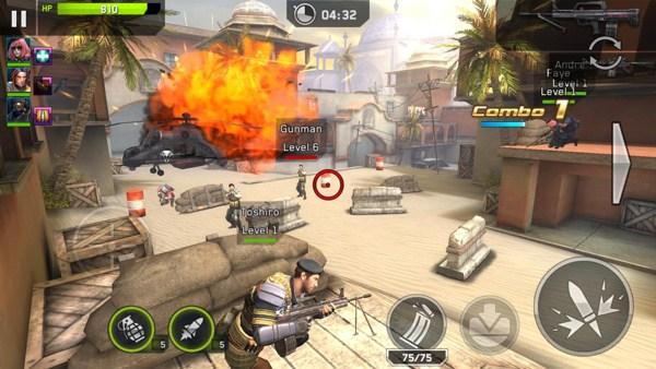 تحميل لعبة RIVAL FIRE apk for android للاندرويد
