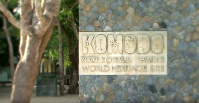 taman nasional komodo national park heritage site