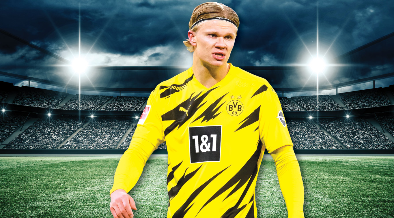 Erling Haaland will look to inspire Borussia Dortmund in an attempt to topple champions Bayern Munich