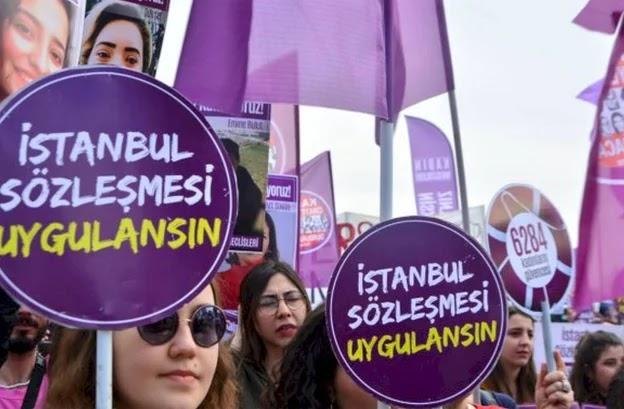 İstanbul Sözleşmesi'nden çekildi