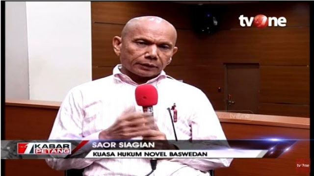Bang Saor Sebut Politikus PDIP Pelapor Novel Baswedan Tak Berperikemanusiaan