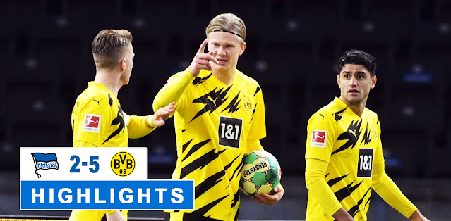 Hertha BSC vs Borussia Dortmund – Highlights