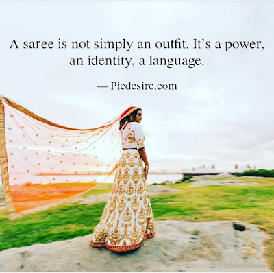 Top 30 Saree Quotes and Captions