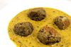 Indian Paneer Lentil Kofta in a Creamy Spiced Fenugreek Sauce