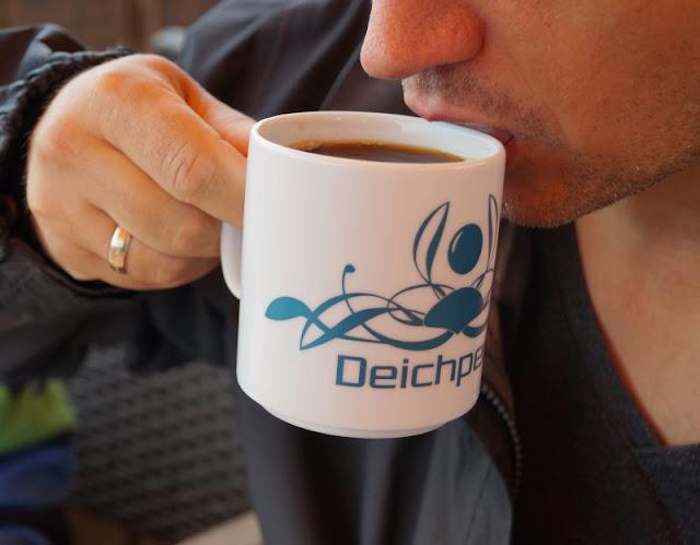 Kaffee trinken Deichperle