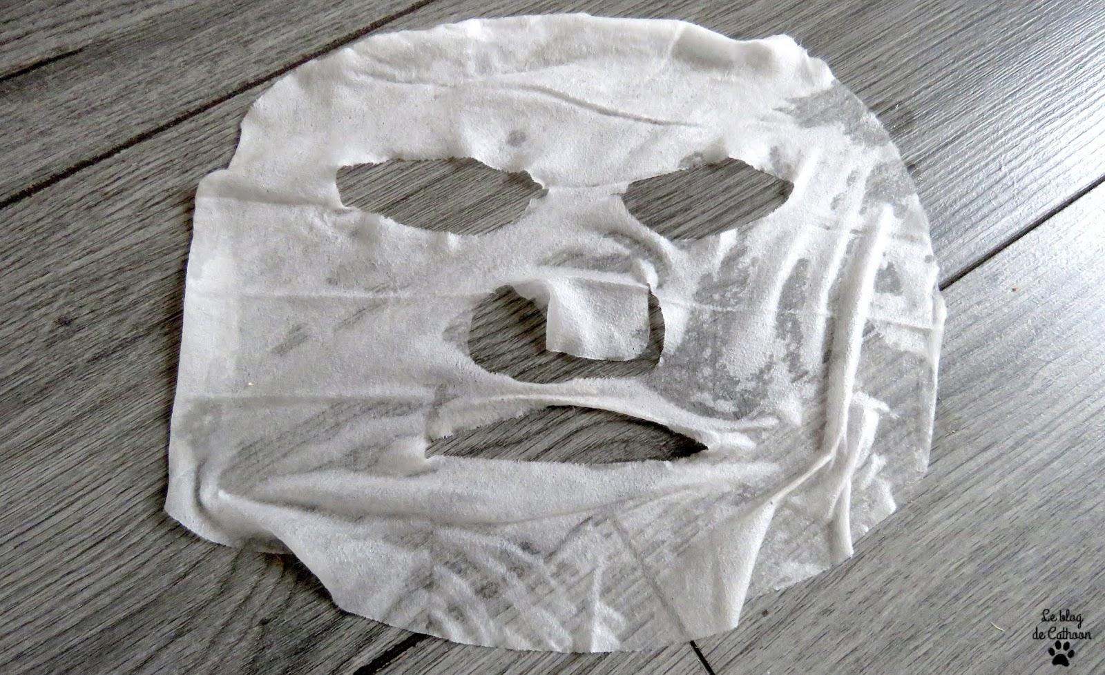 Sheet Mask Egg White - Action
