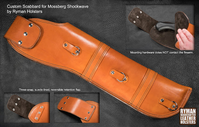 Custom Scabbard for Mossberg Shockwave