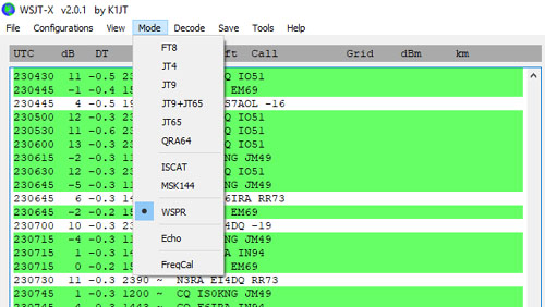 EI7GL    A diary of amateur radio activity: Back on WSPR on 28 MHz