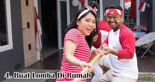 Buat Lomba Di Rumah merupakan salah satu cara seru merayakan hari kemerdekaan di rumah saat pandemi
