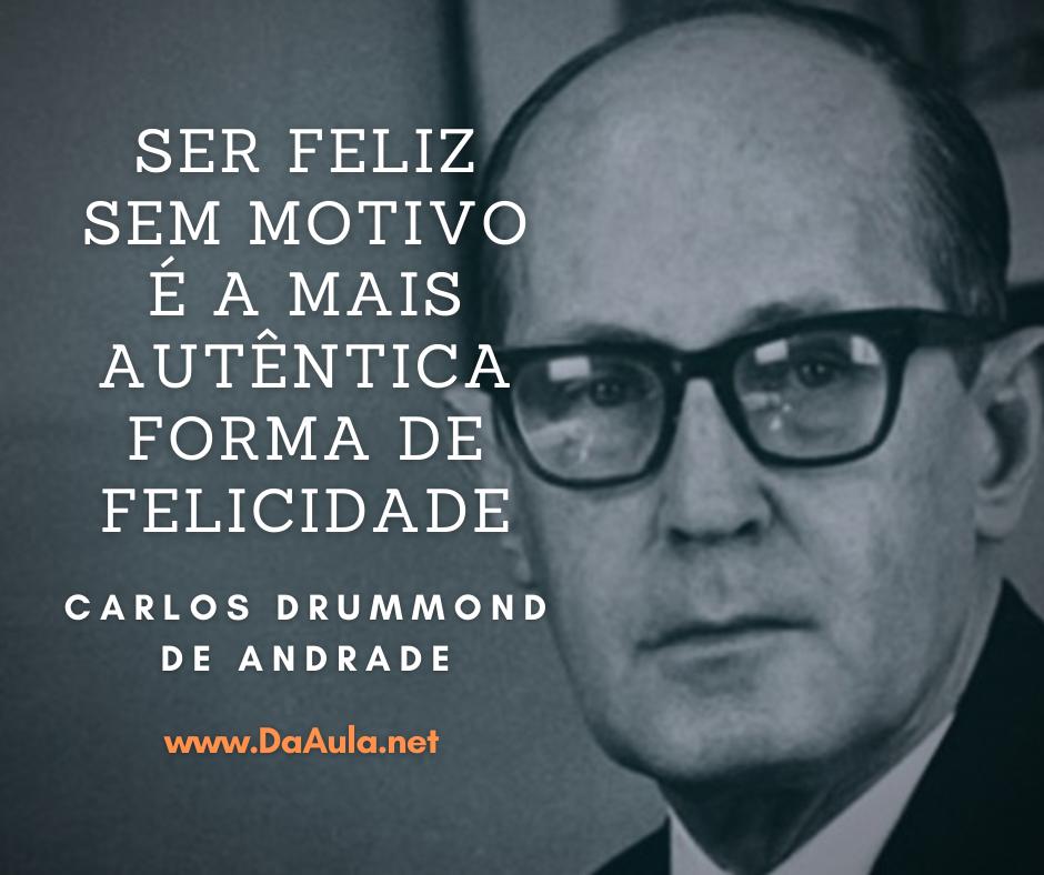 Quem foi Carlos Drummond de Andrade