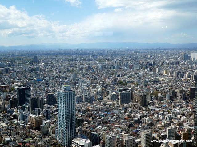 el mejor mirador de Tokio