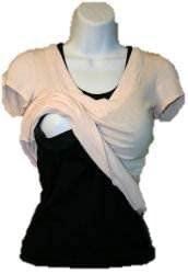 BellyMoms Cotton Maternity Nursing Undershirts for Breastfeeding Moms
