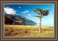 осень на озере Байкала