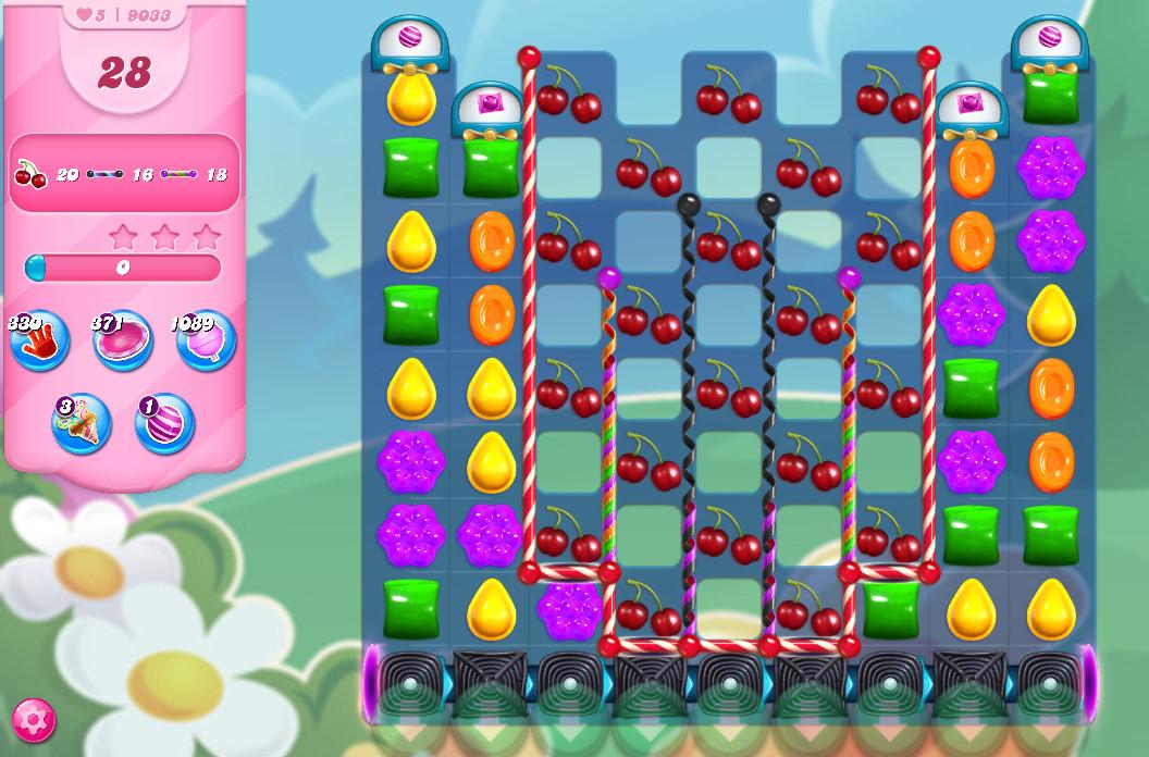 Candy Crush Saga level 9033
