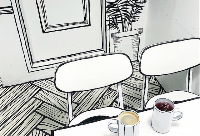Konsep Desain Cafe Unik Ini Membuat Anda Seolah-Olah Hidup Di Dunia Fantasi