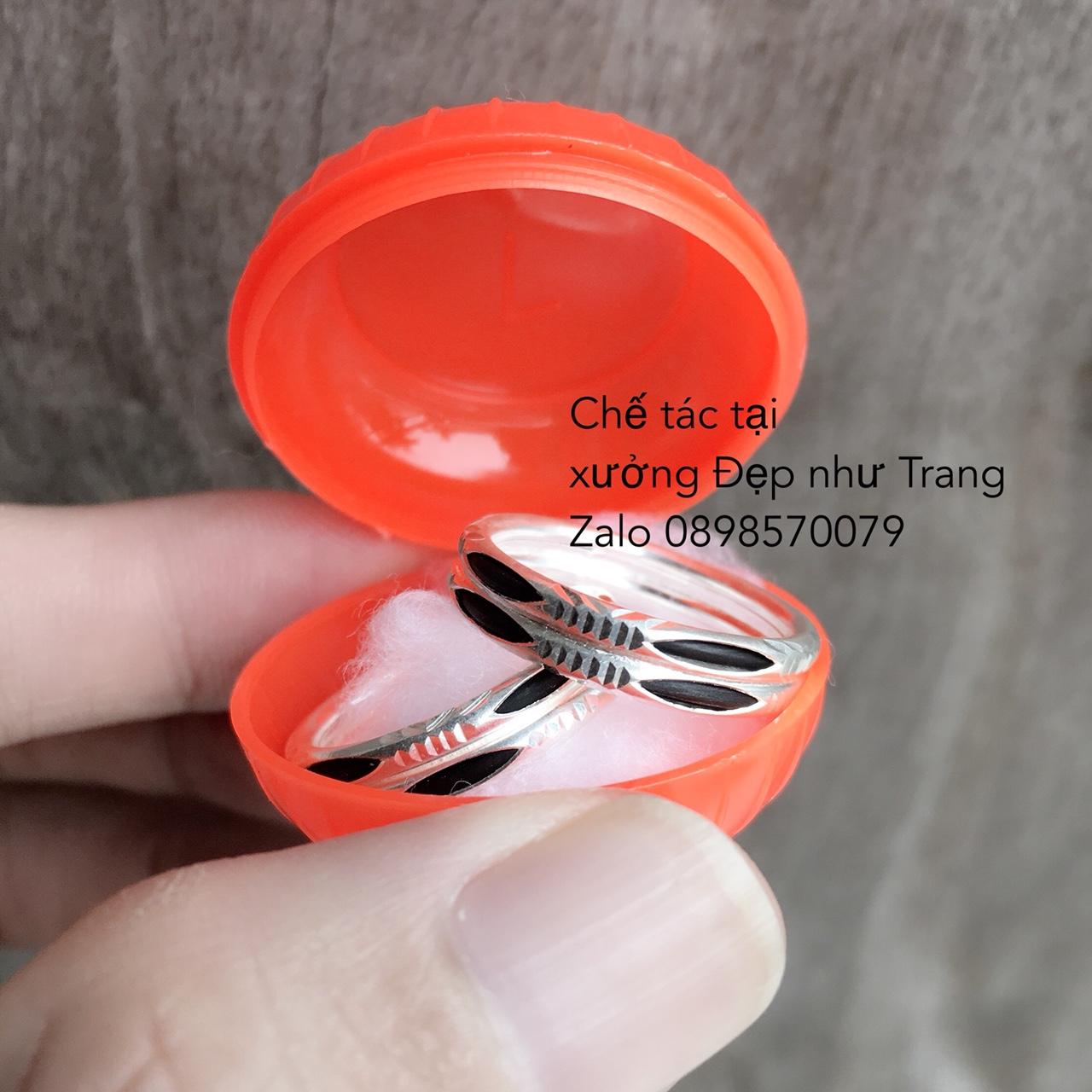 Một cặp nhẫn kép (dành cho 2 người) đã được một khách hàng ở TPHCM đặt hàng