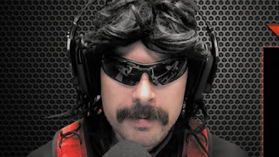 """Figure: Dr. Disrespect is one of the most interesting Twitch streamers for his portrayal of a typical """"bro"""" gamer. What's his real name?"""