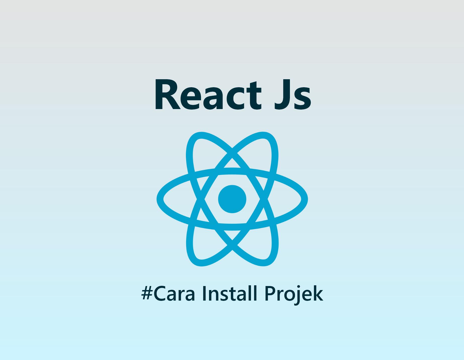 Install React Js