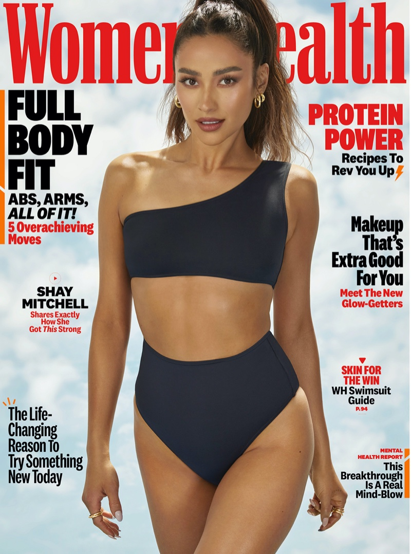 Shay Mitchell on Women's Health June 2021 Cover. Photo: Dennis Leupold