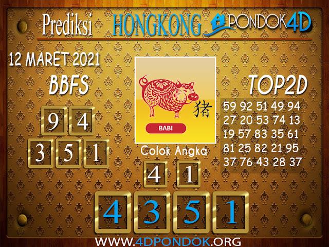 Prediksi Togel HONGKONG PONDOK4D 12 APRIL 2021